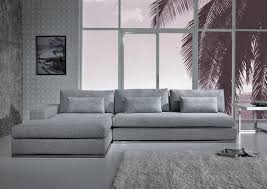 Sofa Set L Shape 2016 Contemporary Minimalist Guest Room Design Using Gray Sofa