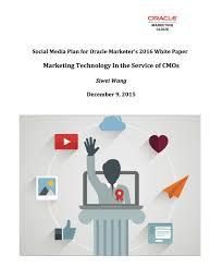 social media plan u2013 iris wang