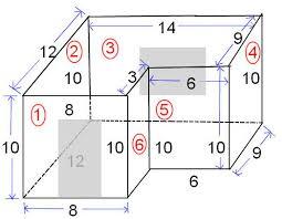 free math sub topics how to calculate square feet