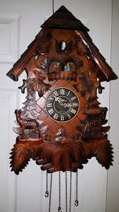 Antique Cuckoo Clock Best The Time Company Cuckoo Clock Collectible For Sale In