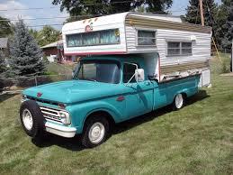 Old Ford V8 Truck - 20 370 miles 1966 ford f 100 camper special