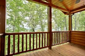 wrap around deck just listed upscale mountain view cabin with outdoor fireplace