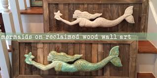 cool inspiration wooden mermaid wall decor carved wood