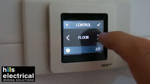 devi floor heat controller youtube