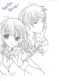 best anime couple coloring pages 62 for coloring pages online with
