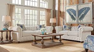 cindy crawford living room sets cindy crawford home knightsbridge ivory 5 pc living room cindy