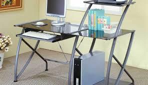 Small Glass Corner Desk Black Glass Corner Desk Homebase Desk Ideas