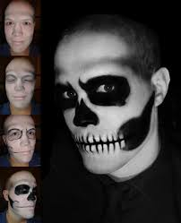Halloween Skeleton Faces by Skull Makeup Taniajohanna Follow Me Taniajohanna Com