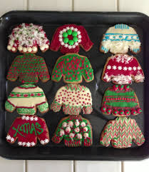 diy ugly christmas sweater cookies made by me aline urkumyan