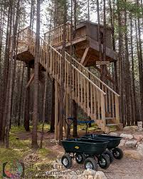 Treehouse Camping Quebec - steve troletti editorial nature and wildlife photographer