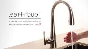 touch sensor kitchen faucet kitchen touch kitchen faucet inside pleasant delta essa touch2o
