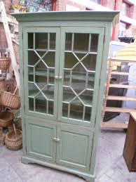 Vintage Display Cabinets Vintage Display Cabinet With The Original Paint Eras Of Style