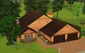 Sims 3 Ps3 Kitchen Ideas by Collections Of Sims 3 Family House Plans Free Home Designs