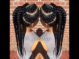 big braids hairstyles unique big cornrow hairstyles for beautiful ladies jumbo braid