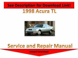 1998 acura tl repair manual youtube