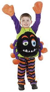 Boy George Halloween Costume Halloween Spider 2 Piece Fancy Dress Costume Kids George Asda