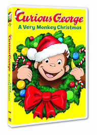amazon curious george monkey christmas frank welker