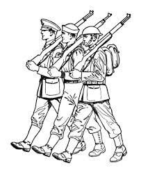 army soldier coloring pages an army march coloring pages bulk color
