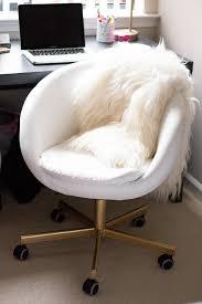 Diy Desk Chair Gold Office Chair Diy Ikea Hack Home Tenise