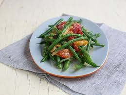 green beans with blood orange and tangerine dressing recipes
