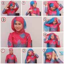 tutorial jilbab segi 4 untuk kebaya new tutorial hijab segi empat untuk kebaya modern