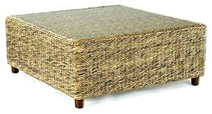 round rattan side table coffee table rattan vintage rattan and cane coffee table 2 round