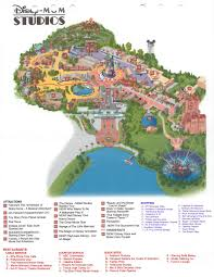 Disney Hollywood Studios Map Mgm Studios Map Lake Buena Vista Fl U2022 Mappery