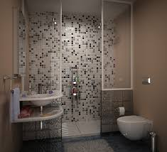 tile designs using white grey brown and blue bathroom in gray