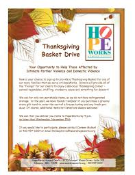 adopt a family for thanksgiving holiday giving we are hope works
