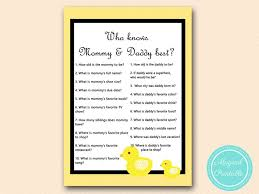 who knows best baby shower tlc151 who knows best rubber ducky baby shower