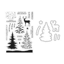 arts snowy tree st and die set