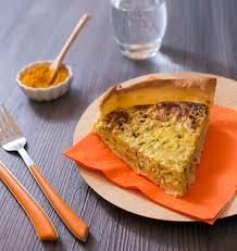 curcuma en cuisine quiche moelleuse aux courgettes thon et curcuma les meilleures