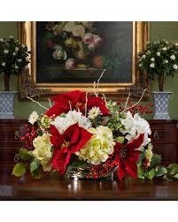 christmas flower arrangements christmas silk flower arrangements at officescapesdirect