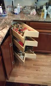 sliding cabinet organizers kitchen kitchen decoration ideas shelfgenie of portland accepts the challenge of organizing your west linn kitchen with slide out solutions