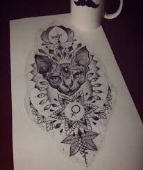 ink and staples gg pinterest sphynx tattoo and mandala