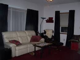 livingoom black curtains alluringed and grey white awesome living