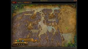 World Of Warcraft Map by Blizzplanet World Of Warcraft