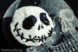 the disney diner disney halloween cupcakes jack skellington
