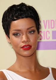 razor cut hairstyles gallery rihanna latest short curly hairstyle the curly boy cut