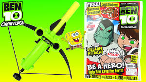 ben 10 omniverse toys episode official magazine u0026 comic reading