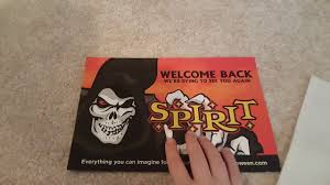 spirit halloween coupon in store i got a coupon from spirit halloween youtube
