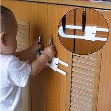 kitchen cupboard door child locks home plastic lock kitchen cupboard cabinet fridge wardrobe door baby child kid safety lock protect safe kitchen accessories