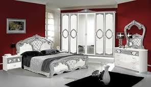 schlafzimmer barock italienisches schlafzimmer rokko luxus 6 tlg bett komplett barock