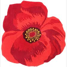 Overstock Oriental Rugs Hand Tufted Mandara Fun Flower Shaped Wool Rug 3 U00273 X 3 U00273 Free