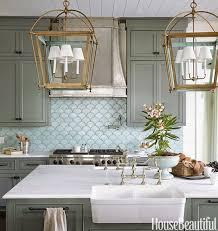 white kitchen cabinets with aqua backsplash gorgeous kitchen with aqua backsplash omg lifestyle