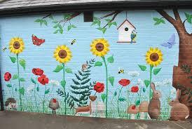 Garden Mural Ideas Garden Wall Murals Ideas Garden Wall Murals Wall Murals Ideas Gh
