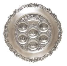 what s on a seder plate pewter seder plate holidays occasions challah connection