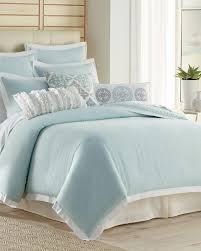 Linen Colored Bedding - 3 piece spa linen blend comforter set comforters bedding bed