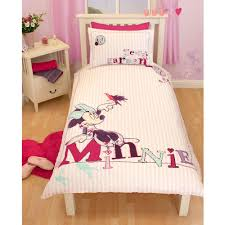 disney mickey or minnie mouse single junior duvet cover sets kids