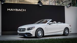 mercedes maybach 2016 the new mercedes maybach s 650 cabriolet
